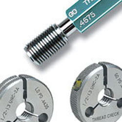 Thread Plug Gage 3//8-16 UNC 2B Double Ends Thread Plug Gage Unified Thread Gage